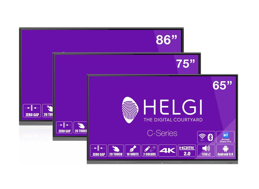 HLG International - HELGI Interactive Flat Panel